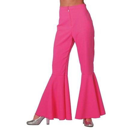 Hippie broek bi-stretch pink