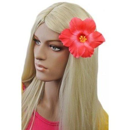 Hawaii Haarbloem Donker roze