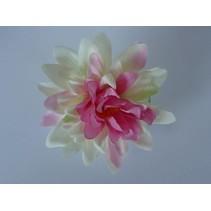 Haarbloem Dahlia Wit/Roze