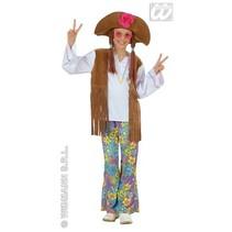 Hippie Woodstock pak meisje