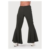 Hippie broek zwart bi-stretch man