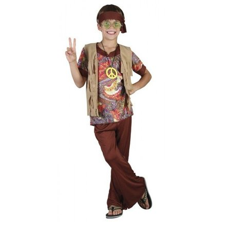 Hippie kostuum jongen Willow