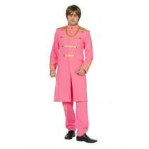 Sgt. Pepper Beatles kostuum roze