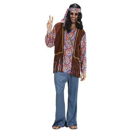 Hippie Man Psychedelisch Kostuum
