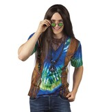 Fotorealistisch shirt Peace man