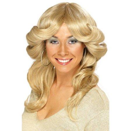 70's Pruik Blond