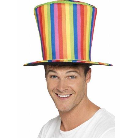 Hoge hoed rainbow