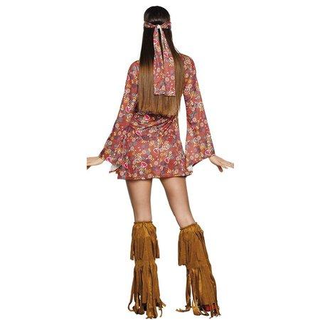 Hippie hottie kostuum dames