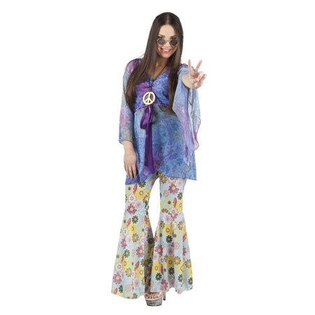 Flower Power kostuum dames Kiley