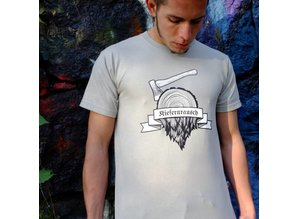 Kiefernrausch T-Shirt aus 100% Baumwolle in zinc-grau
