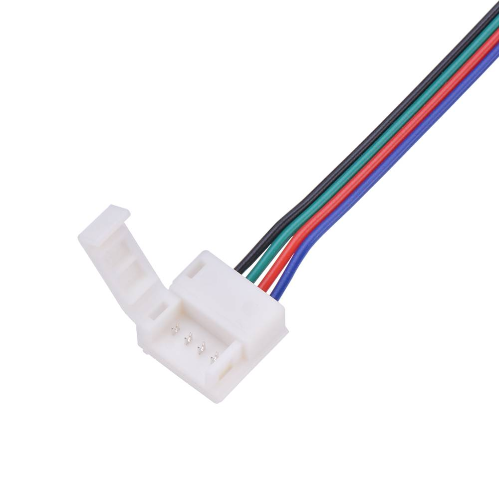 Click Connector With Wire For Rgb Led Strips Ledstrip Wholesale Wiring