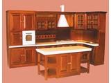 Euromini's Keukenset, 4-delig noten