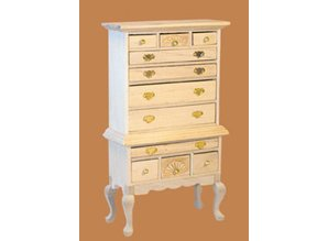 Euromini's Highboy, blankhout