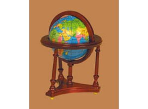 Euromini's Globe, mahonie