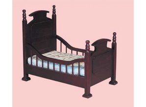 Euromini's Kinderbed, mahonie