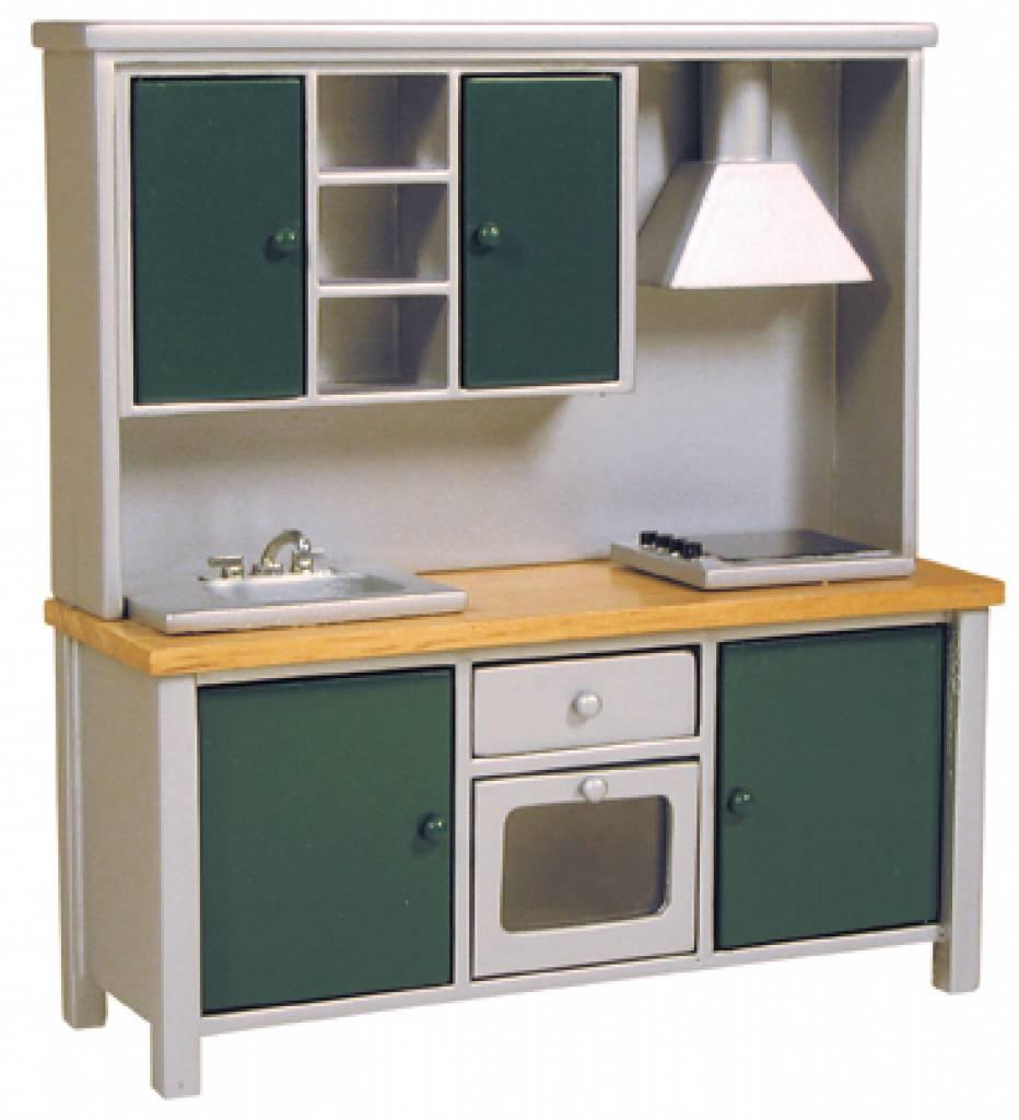 Keukenkast Accessoires : Deluxe Collection Keukenkast met aanrecht, fornuis en oven