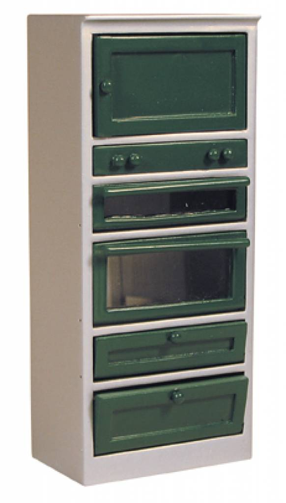 Keukenkast Accessoires : Deluxe Collection Keukenkast, grijs groen Euromini s