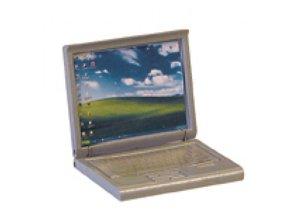 Euromini's Laptop, zilvergrijs