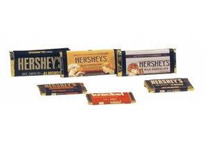 Euromini's Chocolade repen, per 6 Chocolade repen, per 6