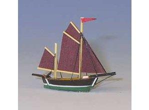 Euromini's Hollandse vissersboot