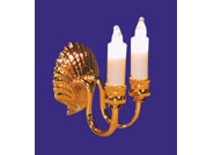 Euromini's Wandlamp, 2-pits kaars