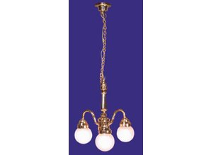 Euromini's Hanglamp, 3-pits matglas bol