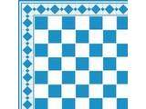 Euromini's Tiles, Light blue & White