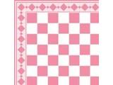 Euromini's Tiles, Pink & White