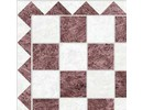 Euromini's Marble Tiles, Brown & White