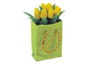 Euromini's Tas met gele tulpen