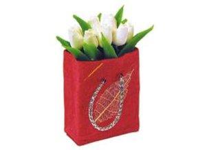 Euromini's Tas met witte tulpen