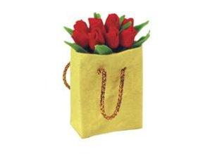 Euromini's Tas met rode tulpen