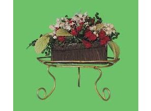 Euromini's Standaard met bloemen