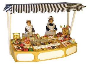 Euromini's Marktkraam