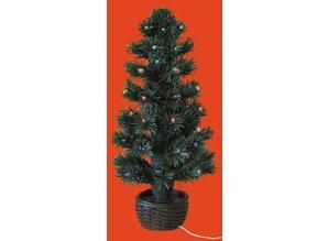 Euromini\'s Fiber-optic kerstboom Kompleet met batterijhouder ...