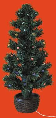 kerstboom met fiber eurominis fiber optic kerstboom kompleet met batterijhouder kerstboom met fiber