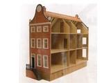 Bouwtekening Amsterdams Grachtenhuis