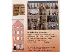 Bouwtekening Gouds grachtenhuis