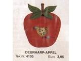 Bouwtekening deurharp appel