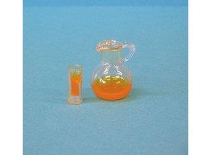 Euromini's EM6528 Glazen kan met glas