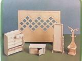 Euromini's Woodcraft Poppenhuismeubels Hal
