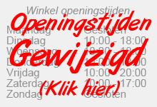 Winkel openingstijden