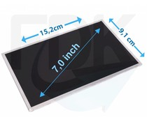 "LCD Scherm 7,0"" 800x480 WVGA Matte Wide (LED)"