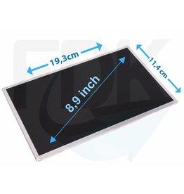 "Laptop LCD Scherm 8,9"" 1024x600 WSVGA Glossy Widescreen (LED)"