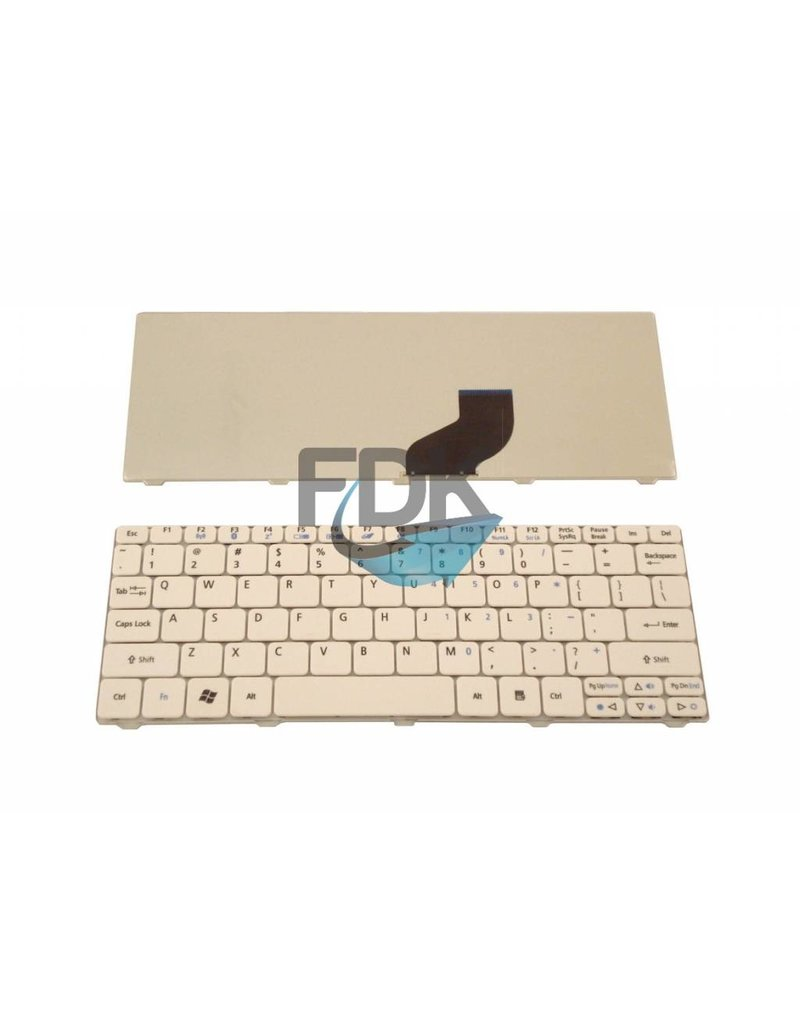 ACER Aspire One 521/ 532H/ 533 & D260 US keyboard (wit)
