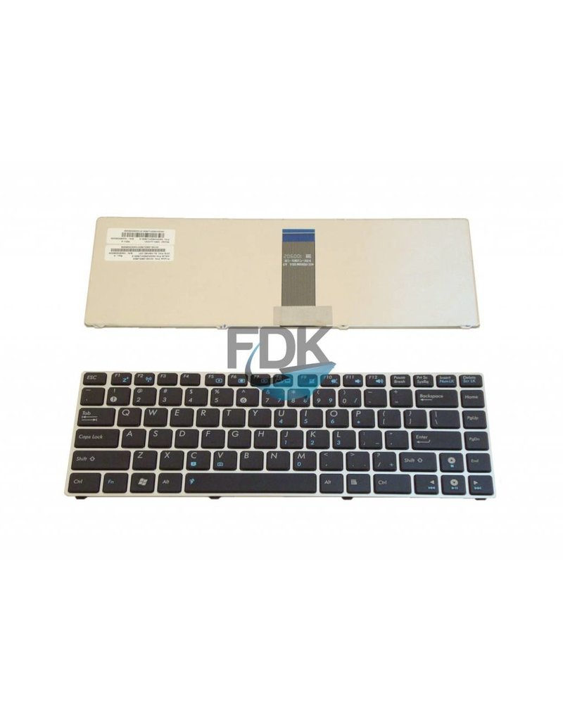 ASUS UL20/EEE PC 1200 series US keyboard (zilver frame)