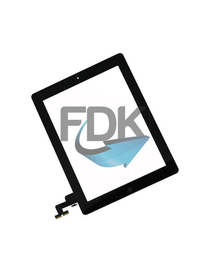 APPLE iPad 2 Digitizer Assembly (zwart)