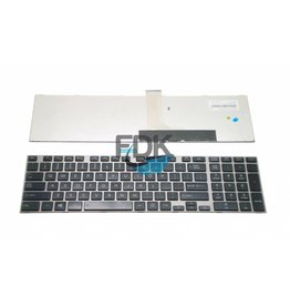 TOSHIBA Satellite P855/ P870 US keyboard (zilver frame)