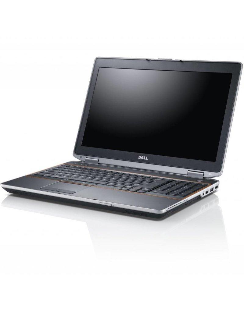 DELL E6520 I7-2720QM/ 8GB/ 256GB SSD/ DVDRW/ W10/ FHD