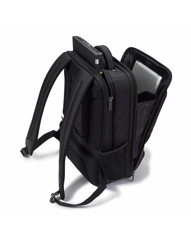Dicota Backpack Pro 15 tot 17.3 inch - Laptop Rugzak / Zwart